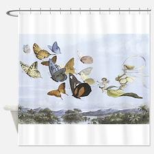 Fairies and Butterflies Shower Curtain