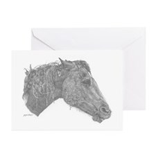 Mean Mare Greeting Cards (Pk of 10)