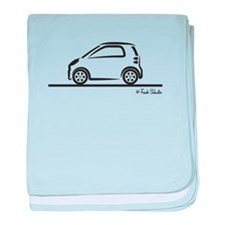 Smart Fortwo side baby blanket