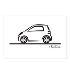 Smart Fortwo side Postcards (Package of 8)