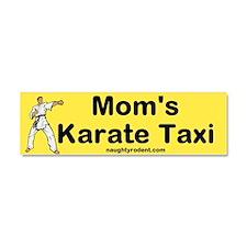 Car Magnet Karate Taxi