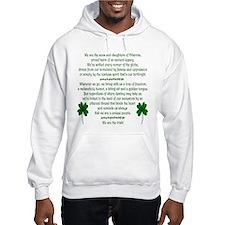 Cute Irish celtic sayings Hoodie