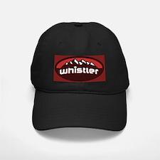 Whistler Red Baseball Hat