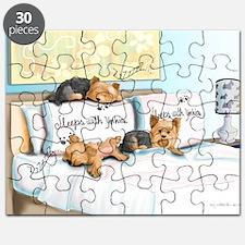 Sleeps with Yorkies Puzzle