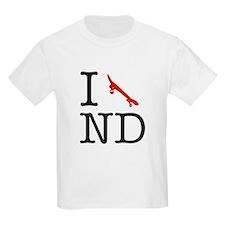 I Skateboard North Dakota Kids T-Shirt