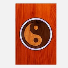 Inlaid Yin Yang Postcards (Package of 8)
