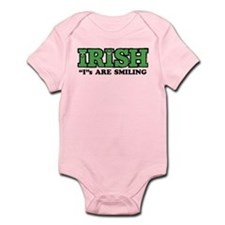 "Irish ""I""s Are Smiling Infant Bodysuit"
