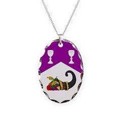 Helene's Necklace Oval Charm