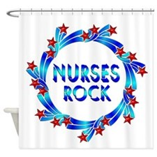 Nurses Rock Shower Curtain