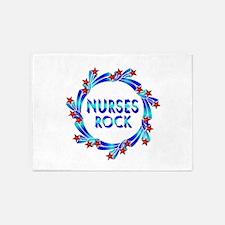 Nurses Rock 5'x7'Area Rug