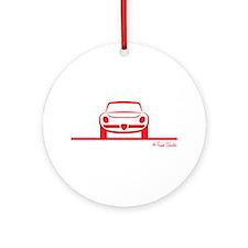 Alfa Romeo Spider Duetto Front Ornament (Round)