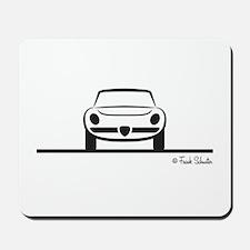 Alfa Romeo Spider Duetto Front Mousepad