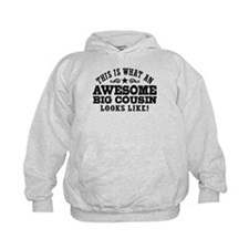 Awesome Big Cousin Hoodie