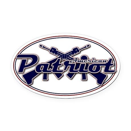 American Patriot Car Magnet
