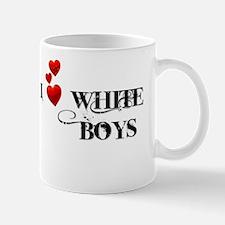 I Love White Boys Mug