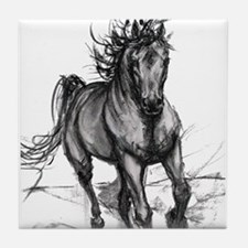 Unique Horses Tile Coaster