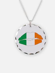 Irish Lips Necklace