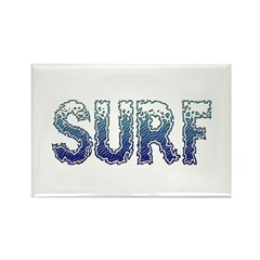 Surf Rectangle Magnet (100 pack)