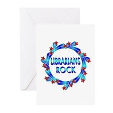 Librarians Rock Greeting Cards (Pk of 20)