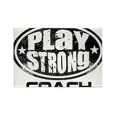 PSLogo_Tee_Coach Rectangle Magnet