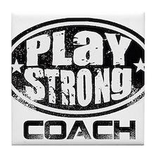 PSLogo_Tee_Coach Tile Coaster