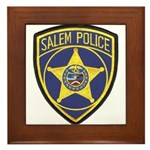 Salem Police Framed Tile