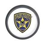 Salem Police Wall Clock