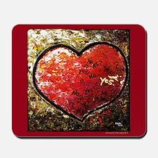 """Chaos in Heart"" Mousepad"