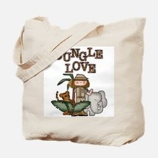 Jungle Love (Girl) Tote Bag