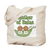 African american twins Canvas Totes