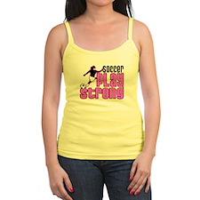 Play Strong Girls Soccer Tank Top