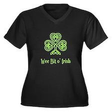 Wee Bit o Irish Plus Size T-Shirt