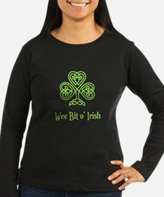 Wee Bit o Irish Long Sleeve T-Shirt