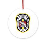 DC Metro Police Dive Team Ornament (Round)