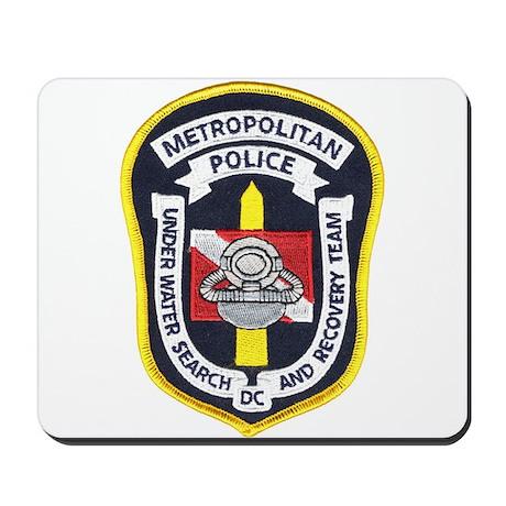 DC Metro Police Dive Team Mousepad