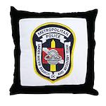 DC Metro Police Dive Team Throw Pillow
