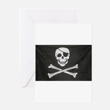 Jolly Roger Greeting Cards (Pk of 10)