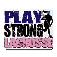 Girl's Lacrosse Mousepad