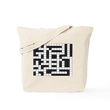 Unique Crossword Tote Bag