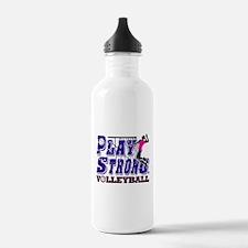 GirlsVolleyBallSlamTee Water Bottle