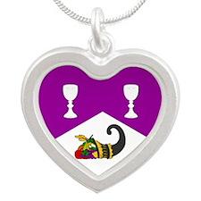 Helene's Silver Heart Necklace