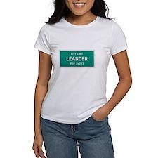 Leander, Texas City Limits T-Shirt