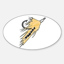 Fishing Lure Oval Decal
