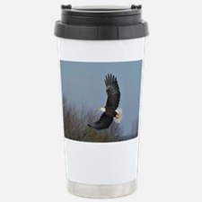 Bald Eagle soaring Travel Mug