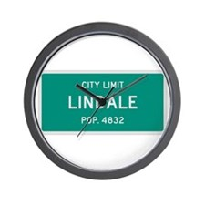 Lindale, Texas City Limits Wall Clock