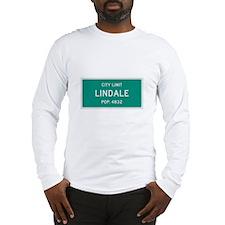 Lindale, Texas City Limits Long Sleeve T-Shirt