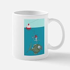 Nibble, Funny Fishing Mug