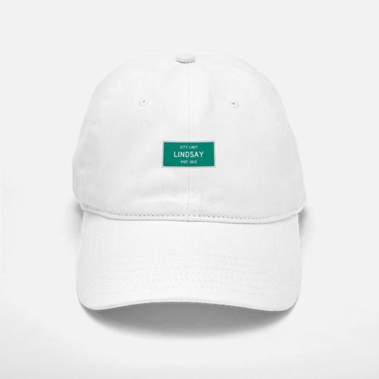 Lindsay, Texas City Limits Baseball Baseball Baseball Cap