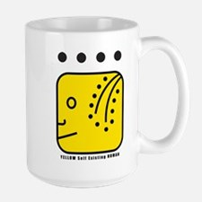 YELLOW Self-Existing HUMAN Mug