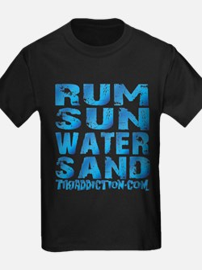 TIKI - RUM SUN WATER SAND - OCEAN T-Shirt